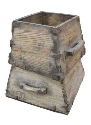 houten emmer/BAK