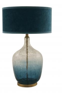 Verliefd ben ik op deze prachtige tijdloze lamp van Van Roon living. Lamp base frederick Ø30x60 cm blue/clear glass . €220,- Geen 13 in een dozijn, en super mooie kwaliteit. Kan besteld worden op de webshop van Cedante.nl