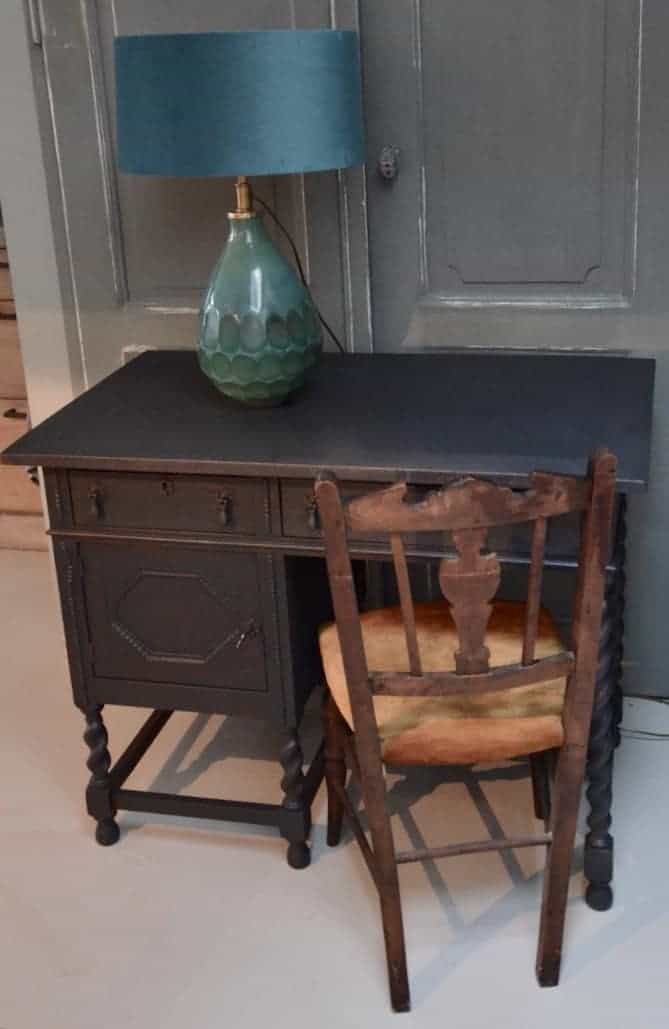 bureau antiek zwart