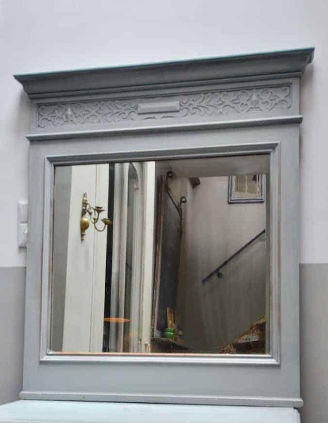 Antieke Brocante Spiegel.Antieke Spiegel