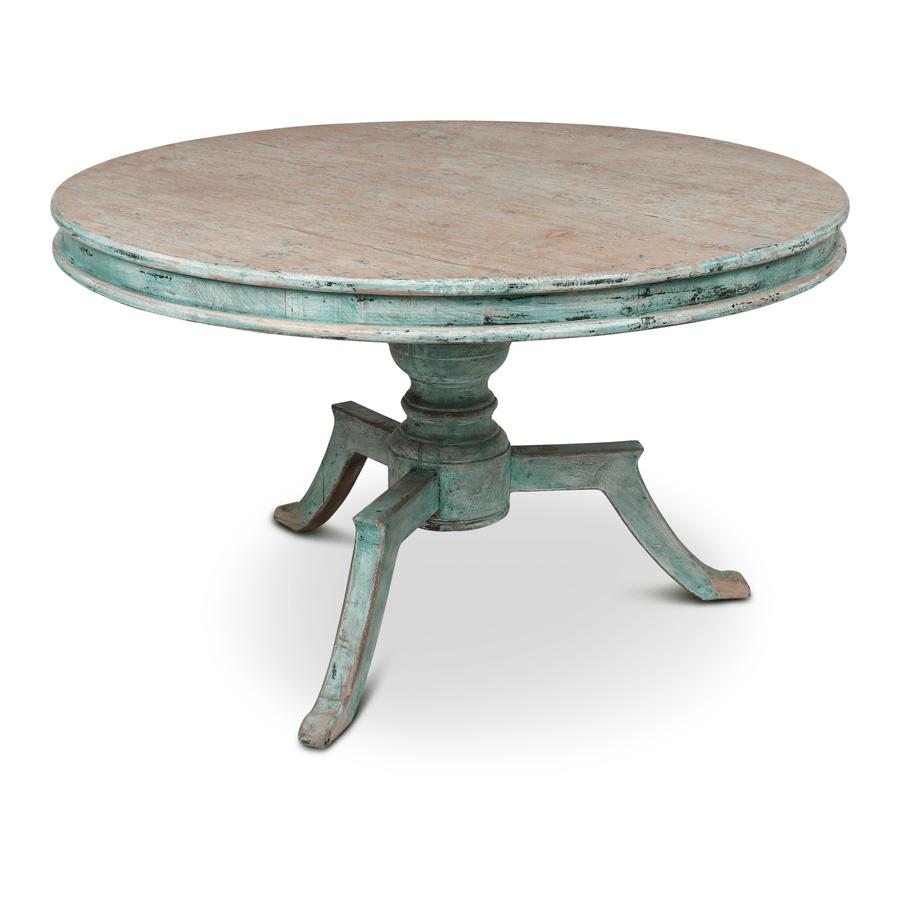 ronde tafel groen
