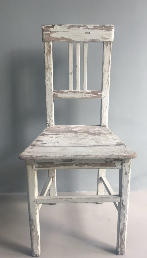 zweedse brocante stoel