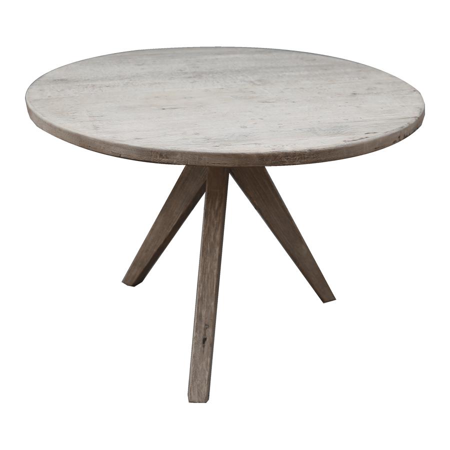 ronde grenen tafel