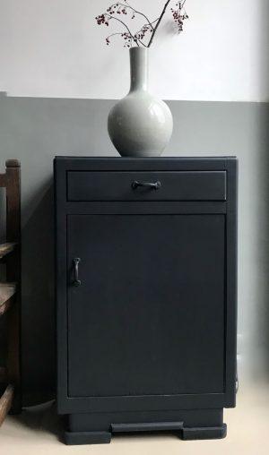 zwart kastje