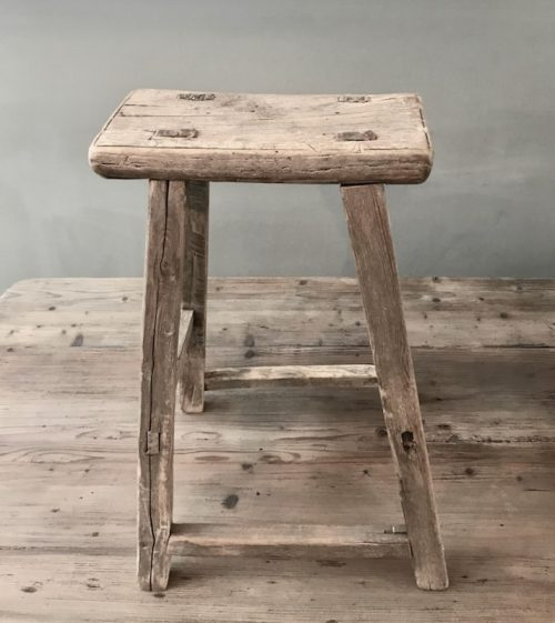 oude houten kruk 3 - 1