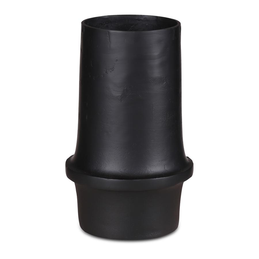 Vaas Macy matt black small Artikelcode: 44562027 € 22,50excl. BTW Kleur Zwart Materiaal Aluminium Maten (in cm) 14x13x30